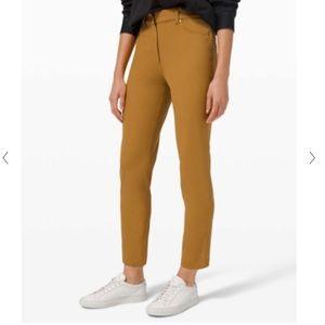 NWT Lululemon 5-pocket pants